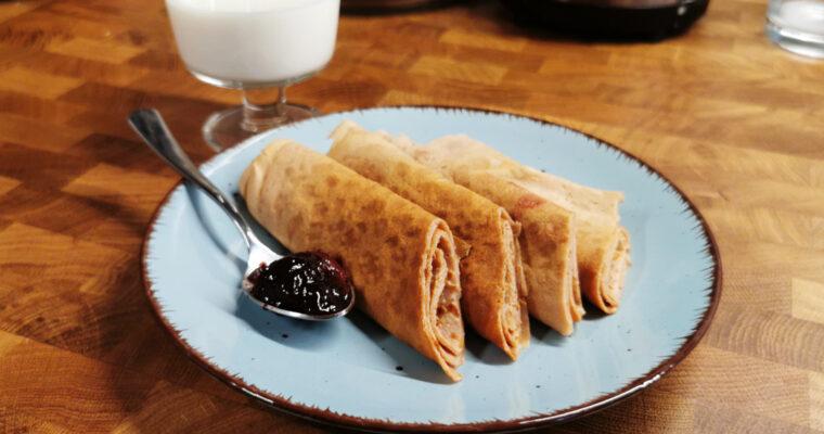 Naleśniki z mąki kasztanowej