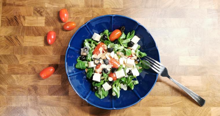 Roszponka z pomidorkami i tofu